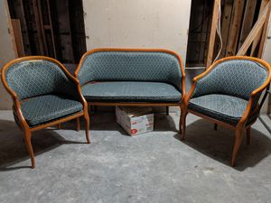 Three piece office waiting area seating for Sale in West Haven, CT
