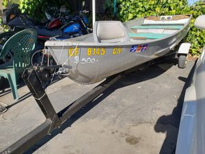 12ft aluminum boat with trailer for Sale in Martinez, CA