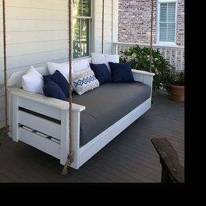 Porch swing mattress covers and pillows for Sale in Wake Forest, NC
