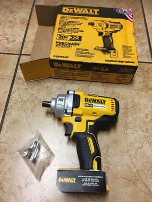 DEWALT 20-Volt MAX XR Lithium-Ion Cordless Brushless 1/2 in. Impact Wrench with Detent Pin Anvil (Tool-Only) for Sale in Phoenix, AZ