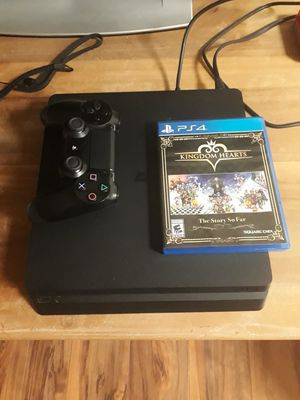 playstation 4 with 1 game and 1 control trade for nintendo switch for Sale in Ellicott City, MD