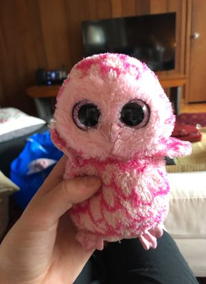 Beanie boo pink owl for Sale in Bethesda, MD