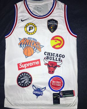 NBA x SUPREME Jersey MEDIUM for Sale in Greensboro, NC