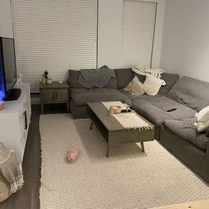 Bob's Discount Furniture Dream Modular Sofa for Sale in Reston, VA