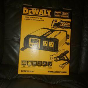 Dewalt Power Inverter for Sale in Phoenix, AZ