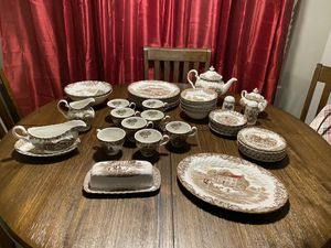 Antique China set for 8 made in England for Sale in Hialeah Gardens, FL