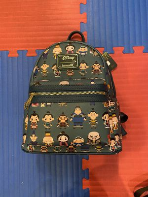 Disney Loungefly Mulan Teal Chibi Mini Backpack for Sale in Sun City, AZ