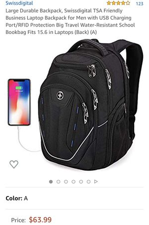Swiss digital backpack for Sale in Los Angeles, CA