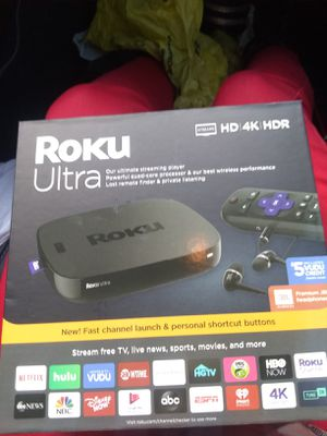 Roku ultra for Sale in Bessemer City, NC
