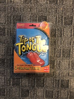Tip of the Tongue Trivia Game for Sale in Annandale, VA