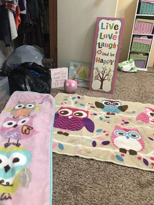 Baby girl owl set for Sale in Tuscola, TX