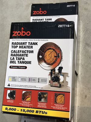 New Zobo 15000 BTU propane top radiant heater for Sale in San Jose, CA