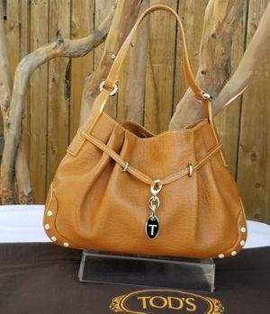 Tod's Medium Brown Leather Hobo shoulder Bag for Sale in Arlington, TX