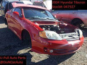 2004 Hyundai Tiburon @ U-Pull Auto Parts 047927 for Sale in Las Vegas, NV