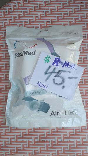 ResMed airfit N10 small size nasal CPAP new unopened for Sale in Pomona, CA