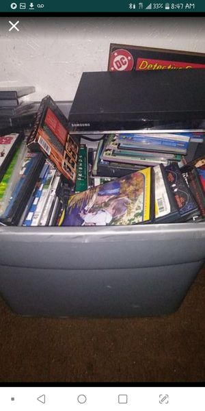 DVDs & Samsung DVD player for Sale in Dallas, TX