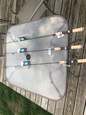 Falcon 5' hd light action spinning rods for Sale in Elsah, IL