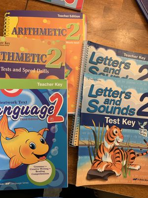 A Beka homeschool curriculum (2nd & 3rd) for Sale in Pickens, SC