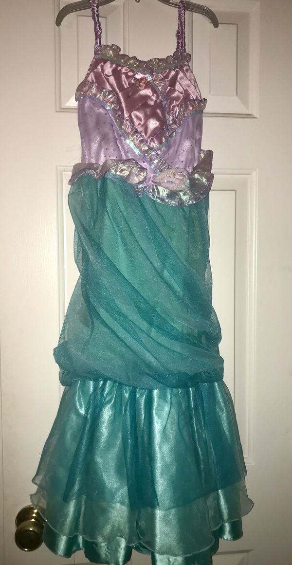 The little mermaid Costume size: M 7/8