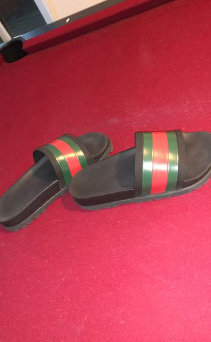 Gucci slides (size 7) for Sale in Bluffdale, UT