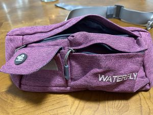 WATERFLY Fanny Pack Slim Soft Polyester Water Resistant Waist Bag Pack for Sale in Anaheim, CA