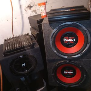 Subs And Amps for Sale in Stockton, CA