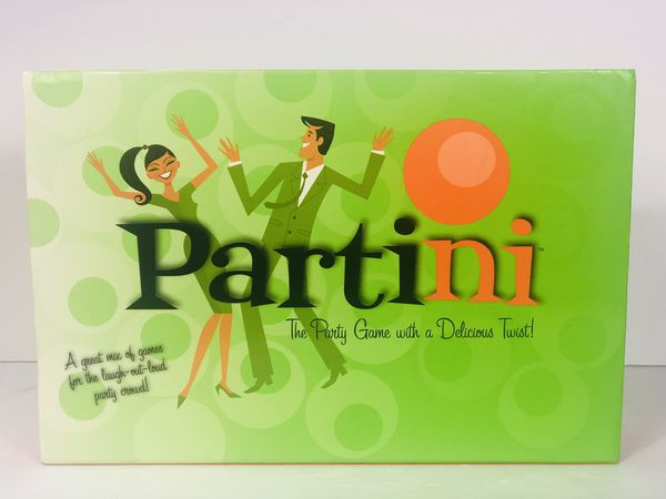 Partini-The Party Game with A Delicious Twist Parker Brothers Board Game