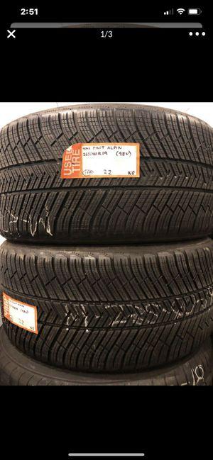 """(2) 19"""" Michelin Winter 265/40/19 265/40r19 new 100% tread tires for Sale in Alhambra, CA"""