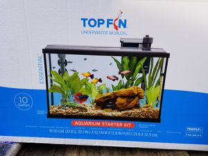 Top Fin 10 gallon aquarium starter kit, new for Sale in Monrovia, MD