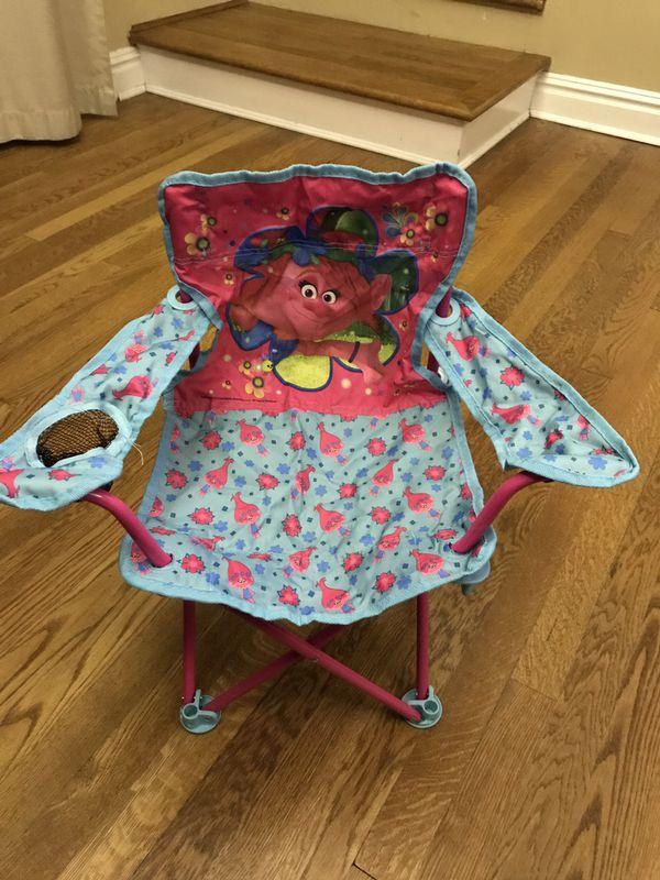 Trolls Fold N Go Toddler Beach Chair