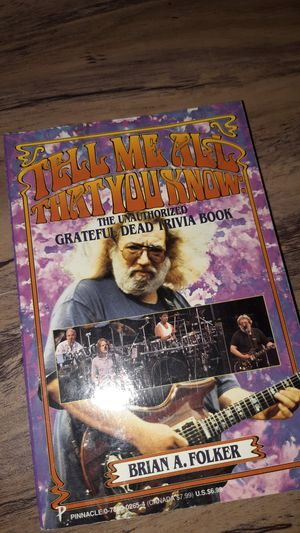 Tell Me All That You Know by Brian A. Folker for Sale in Twin Bridges, CA