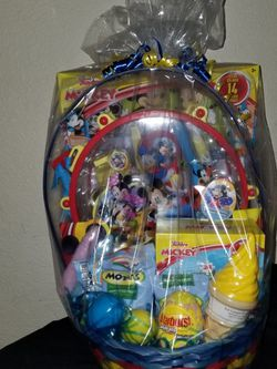 Mickey Mouse Easter Basket for Sale in Fresno,  CA