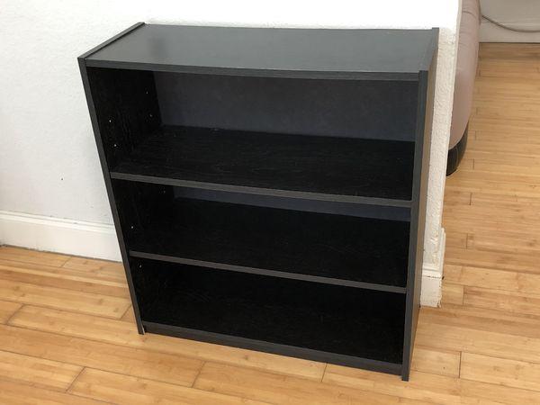 Bookcase/Shelf, Dark Brown, Small