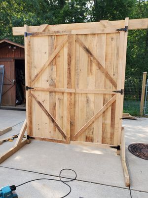 Barn doors for wedding for Sale in Apollo, PA