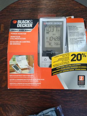 Black and Decker Powe Monitor for Sale in Plano, TX