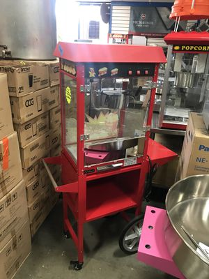 Popcorn Machines, Pans, Chairs, Warmers, slicers, hot dog Rollers, fryer, toaster for Sale in Poway, CA