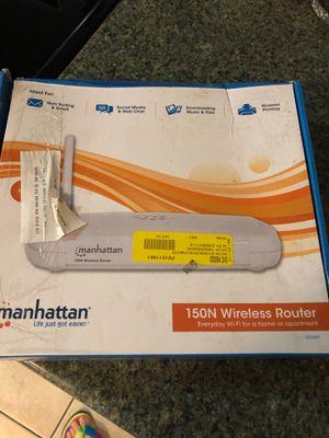 Manhattan 150n wireless router for Sale in Seminole, FL