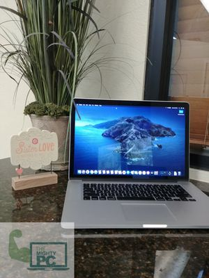 2015 MacBook Pro 15 retina intel quad core i7 processor reliable, reputable computer for your computing needs. for Sale in Chandler, AZ