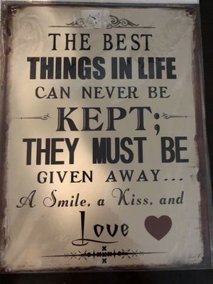 Metal Sign Wall Decor: Brand New wrapped for Sale in Farmers Branch, TX