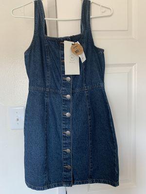 Overall jean dress for Sale in La Mesa, CA