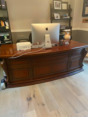 Mahogany Executive Desk for Sale in Irvine, CA