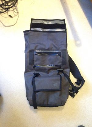 Water Proof Messenger Backpack Bag Gray for Sale in Menlo Park, CA