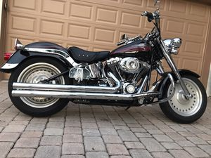 2007 HARLEY-DAVIDSON FAT BOY CLEANEST BIKE AROUND LOADED WITH EXTRAS 10k MILES for Sale in West Palm Beach, FL