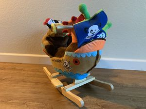 Pirate rocking ship/ rocking chair/ kids rocking horse/ toy for Sale in Fresno, CA