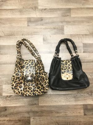 Used, Leopard print purses ! for Sale for sale  Edgewood, WA