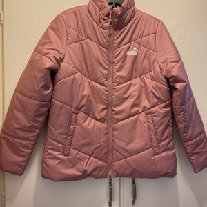 New Authentic Women's Puma Padded Jacket Size Large for Sale in Bellflower, CA