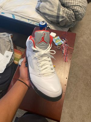 """Jordan 5 """"Fire Red 2020"""" size 12 for Sale in Gainesville, VA"""