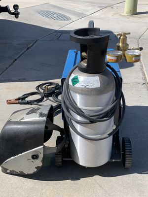 No ago Electric Dual MiG Welder for Sale in San Jacinto, CA