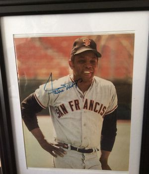 signed 8x 10 Framed photo for Sale in San Antonio, TX