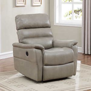 CLEARANCE 65% OFF // BRAND NEW // COSTCO Clifton Top Grain Leather Power Recliner for Sale in Deerfield Beach, FL